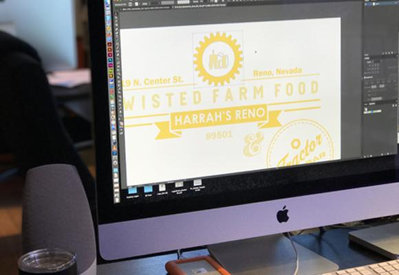 image highlighting some of custom logos graphic design services