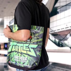 custom teenage mutant ninja turtle totes for viacom