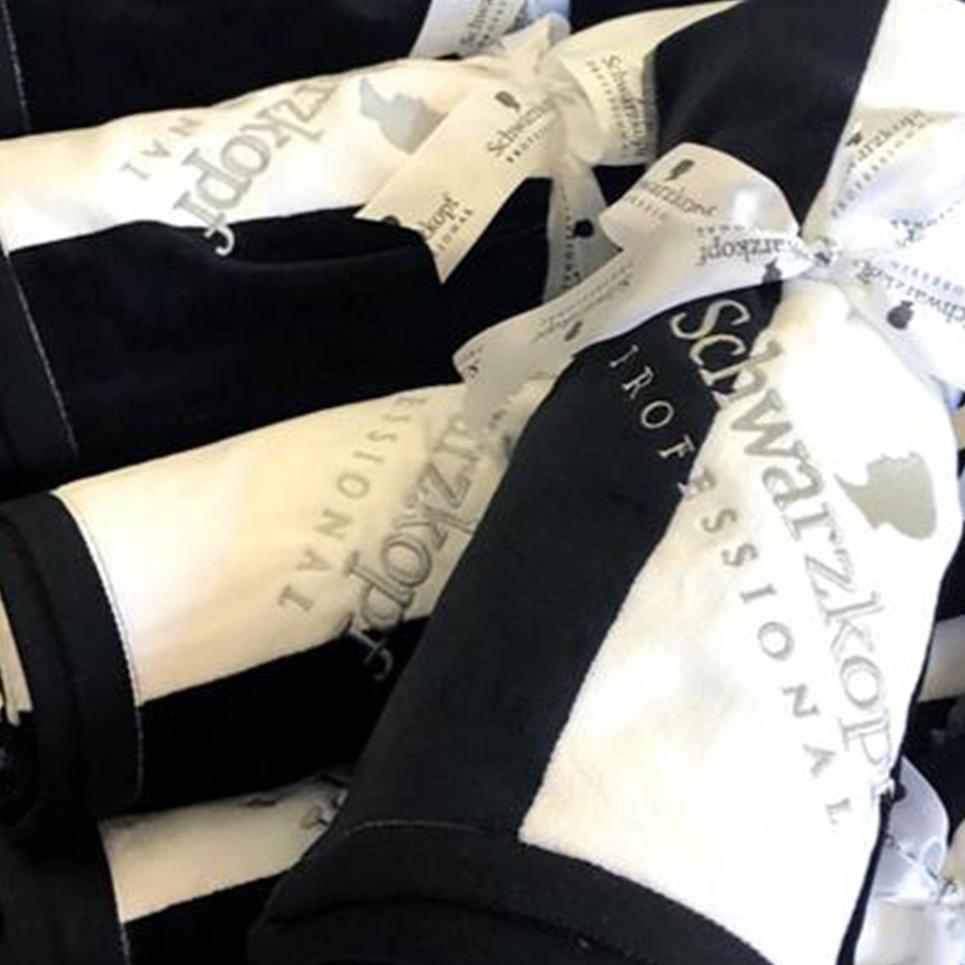 image showing custom branded napkin kit