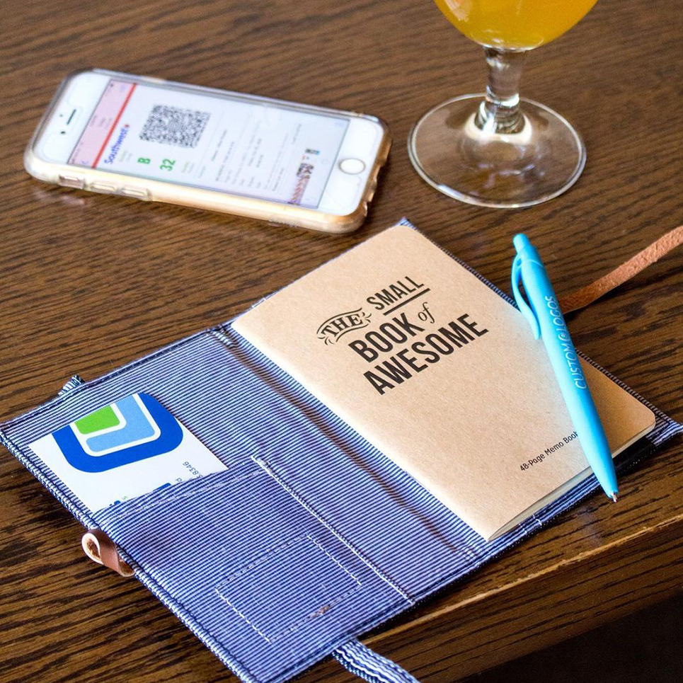 image of print collateral journal