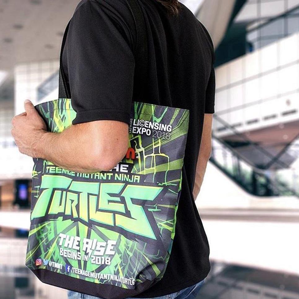 image of Teenage Mutant Ninja Turtles bag, a promotional product example