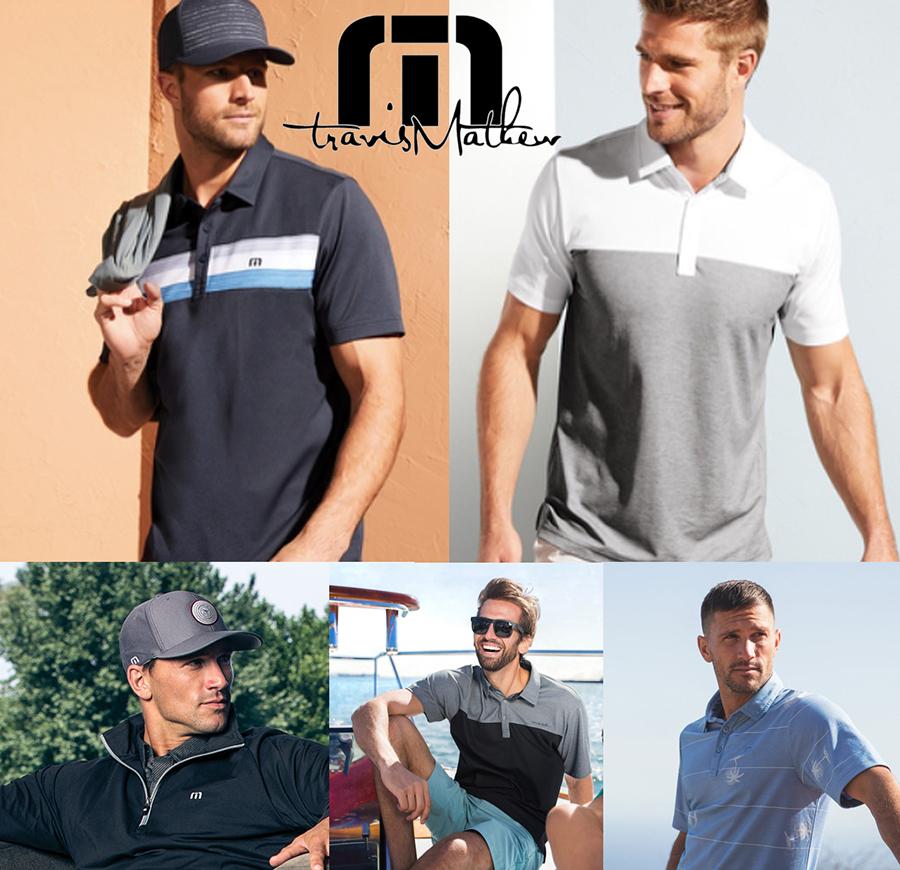 travis matthew apparel customized by custom logos