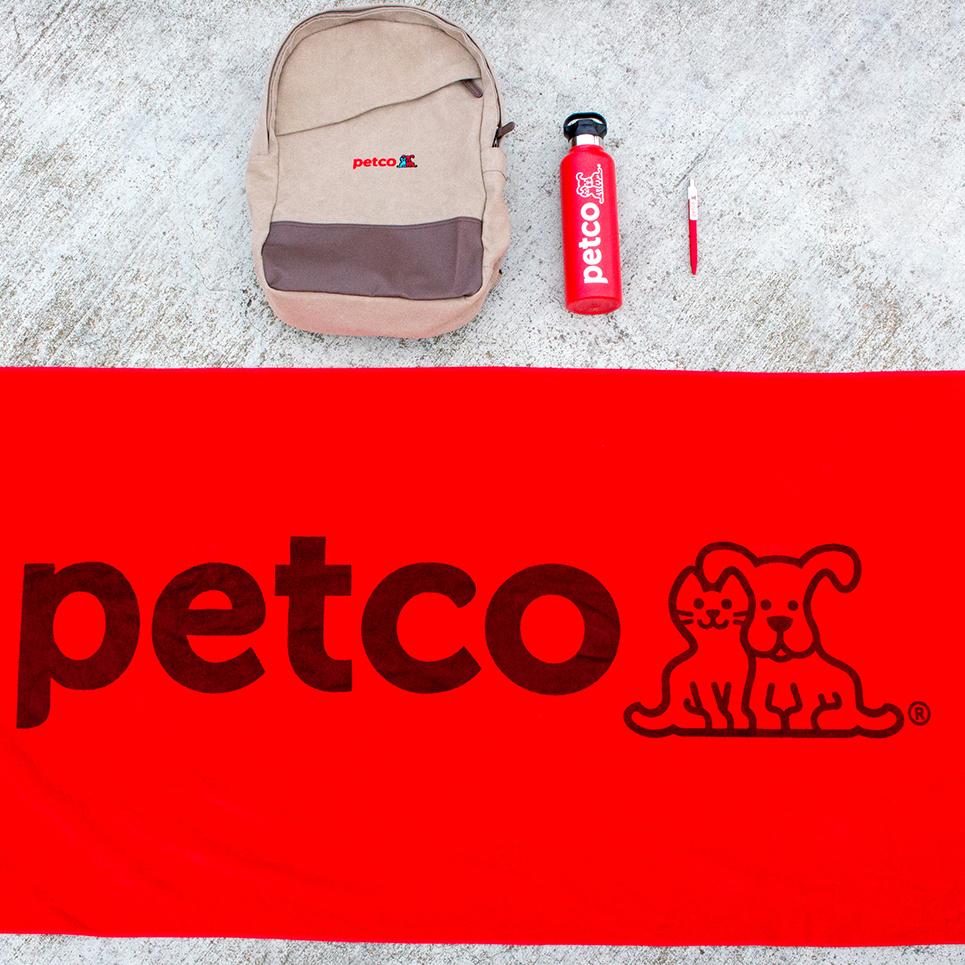 branded promo merchandise printed by custom logos